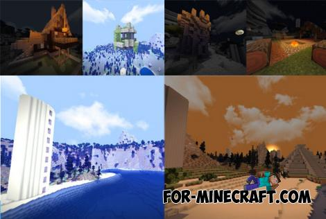 Incredible Custom World for Minecraft PE