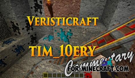 VeristiCraft Texture Pack for Minecraft PE 1.12