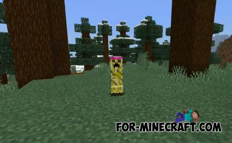 Keeper Creeper Addon for Minecraft Bedrock
