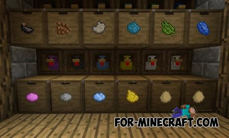 Hens Addon for Minecraft PE 1.13