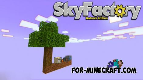 SkyFactory Map for Minecraft PE 1.13