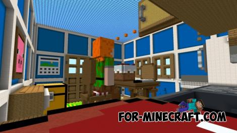 Kitchen Hide & Seek Map for Minecraft PE