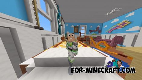 Toy Story 4 Map for Minecraft PE 1.12