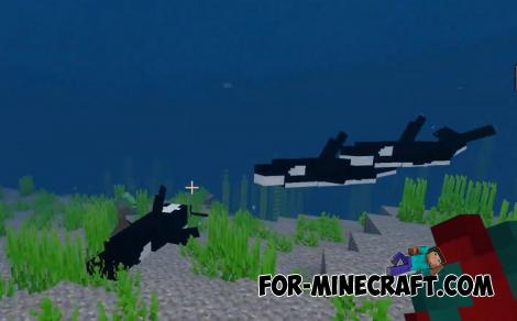 Aquatic+ Addon for Minecraft PE 1.13