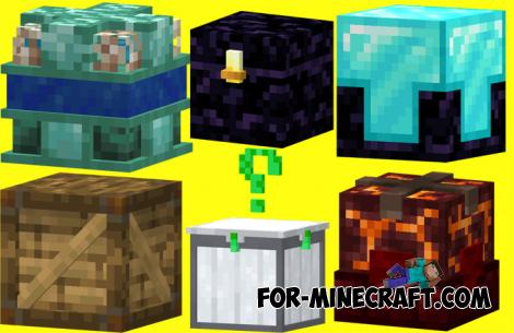 Lucky Boxes Addon for Minecraft Bedrock 1.13+