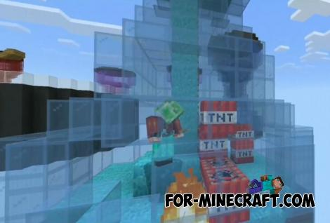 Hourglass SkyWars Map for Minecraft PE