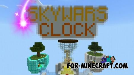 Hourglass SkyWars Map for Minecraft PE 1.13