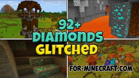 Diamond Seed for Minecraft Bedrock 1.13