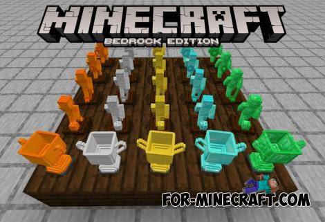 Trophies Addon by Nogard for Minecraft PE