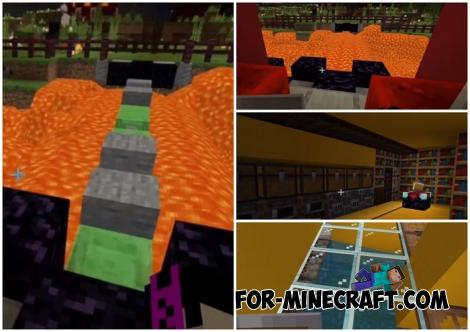 Fortified Base Map for Minecraft PE 1.13