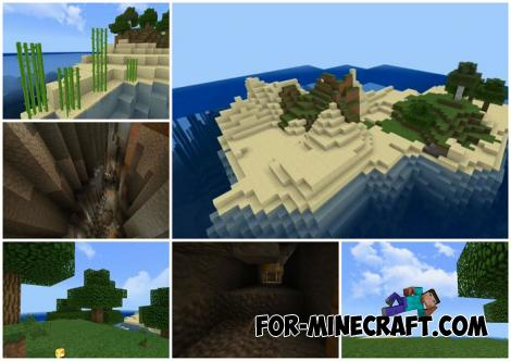 Maldives Seed for Minecraft PE 1.12+