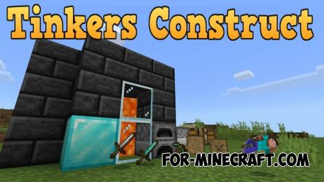 Tinkers Construct Addon for Minecraft PE 1.12/1.13