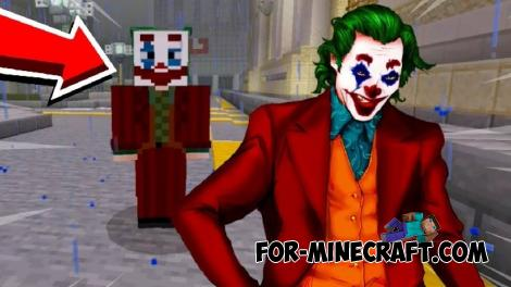 Joker Addon for Minecraft PE 1.12 & 1.13
