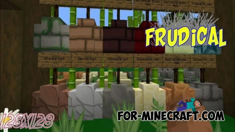 Frudical HD Texture Pack for Minecraft PE 1.13