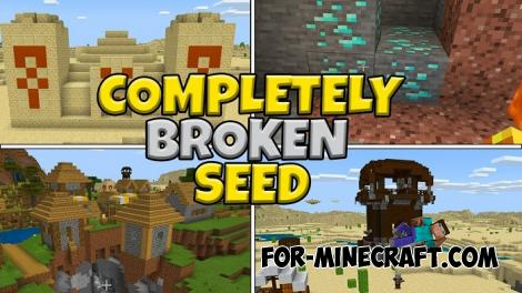 Broken Seed for Minecraft PE 1.13