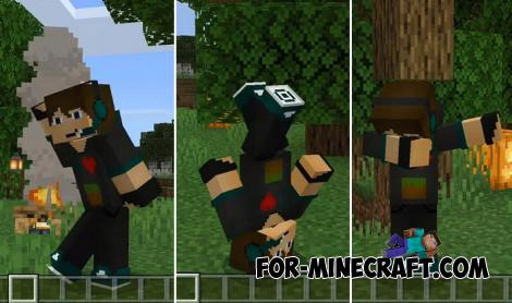 Emotions Addon Pack for Minecraft PE 1.13