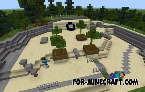 Bicycles Addon for Minecraft PE 1.13