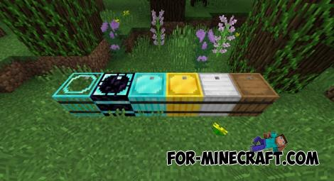Iron Barrels Mod for Minecraft PE