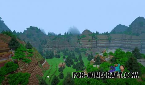 Lone Lands Map for Minecraft PE 1.13