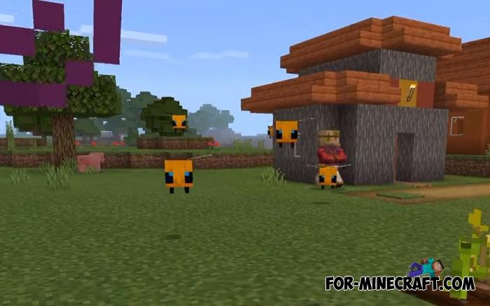 Java Bees Addon For Minecraft Pe 1 13