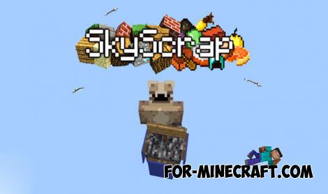 SkyScrap Map for Minecraft PE 1.13