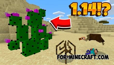Minecraft PE 1.14 Desert Update Addon for MCPE