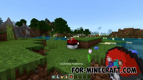 BlockMon Addon (Pokémon) for Minecraft PE