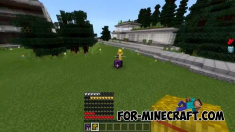 Thanos Lucky Block Addon for Minecraft PE
