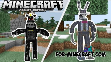 Five Nights at Freddys Universe Addon for MCPE 1.13