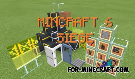 Minecraft PE TCRS Siege Pack for MCPE 1.13.0.18