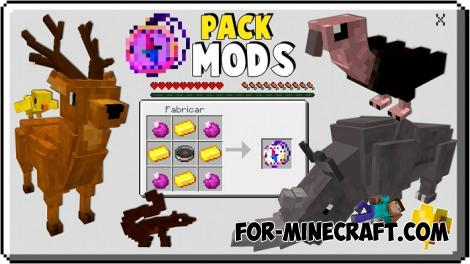One more Addon Pack (5in1) for Minecraft PE 1.12
