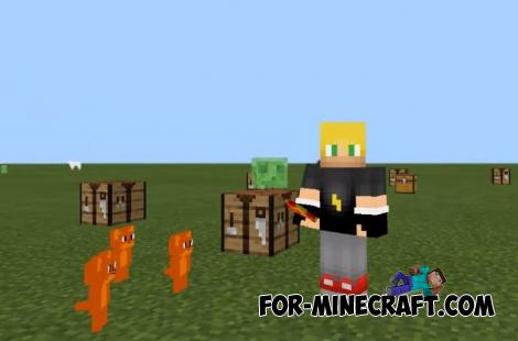 Tom and Jerry Addon for Minecraft PE 1.14