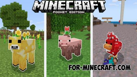 MC Earth Mobs for Minecraft PE 1.14