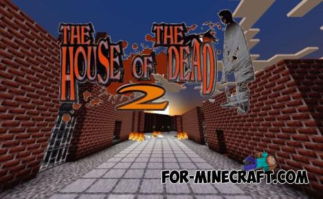 The House Of The Dead 2 Map for Minecraft PE