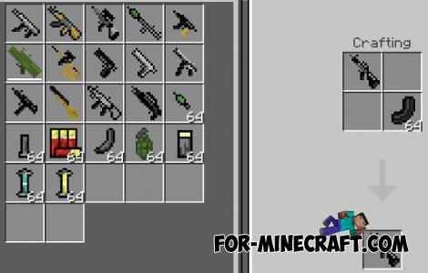 Call of Duty Black Ops Weapon Addon for MCPE 1.14