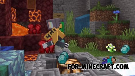 4 Elements Map for Minecraft PE 1.13 1.14