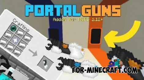 Working Portals Addon for Minecraft PE 1.14