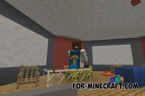 Simply Sit Addon for Minecraft PE 1.13 and 1.14