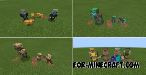 The Variants Addon for MCPE 1.14