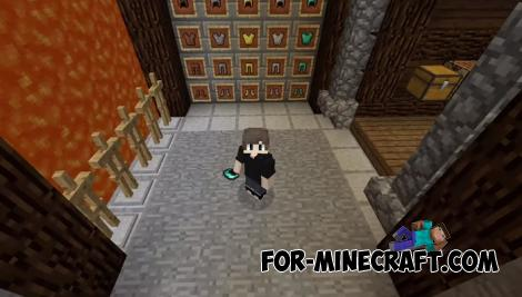 Invisible Armor for Minecraft PE 1.13 and 1.14