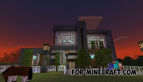 Mini Mansion Map for Minecraft PE 1.14