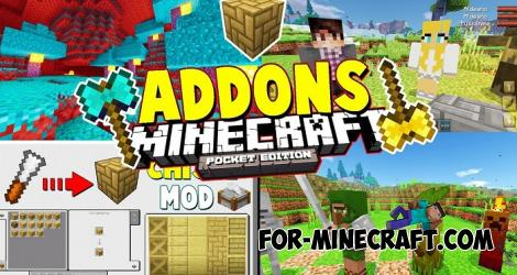 All in One Addon Pack for Minecraft PE 1.12/1.14