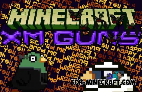 XM Guns Addon for Minecraft PE