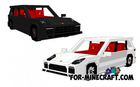 Porsche Cayenne for Minecraft Bedrock