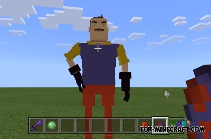 Hello Neighbor Mod For Minecraft Pe 1 13 1 14