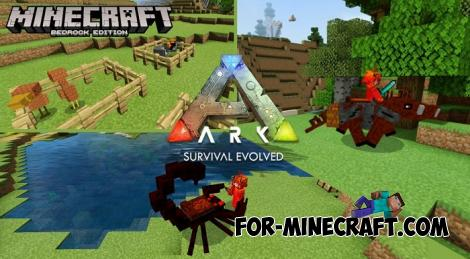 Ark Addon for Minecraft PE 1.13