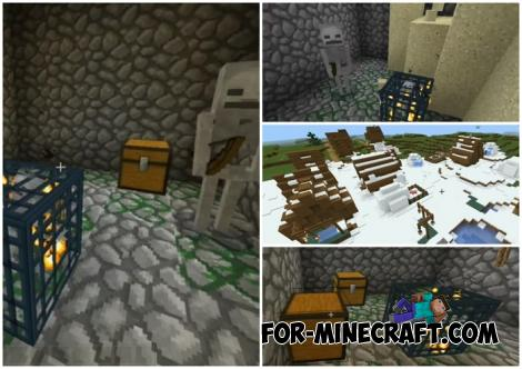Three Spawners Seed for Minecraft PE 1.14.0.4