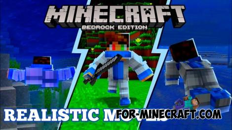 Realistic Movements Addon for Minecraft PE 1.13