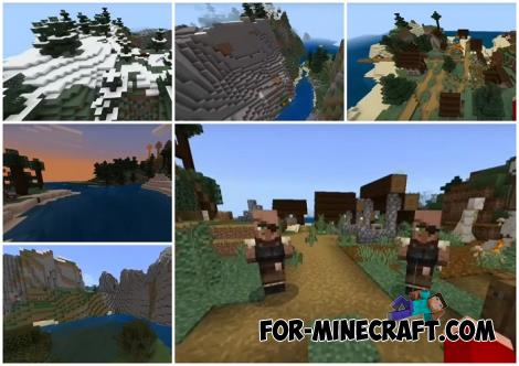 Six Biomes Seed for Minecraft PE 1.13