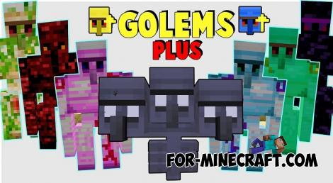 More Golems Addon for Minecraft PE 1.14